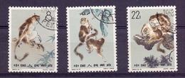 Chine N° 1498 / 1500 Neuf Sans Charniere XX  MNH Singe - 1949 - ... Repubblica Popolare