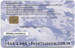 Turkey - TT (chip) - Soldier Cards (Aircraft) - C-276B - Havacikartt Kasim 2013, 4₤, Used - Turkey