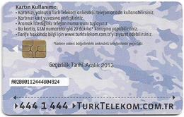 Turkey - TT (chip) - Soldier Cards (Aircraft) - C-276D - Havacikartt Aralik 2013, 4₤, Used - Turkey