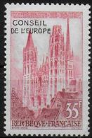 FRANCE   N° 16  * *  Conseil De L Europe Cathedrale De Rouen - Nuevos