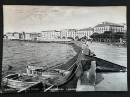 CARTOLINA ANTICA-CASTELLAMMARE DI STABIA-CORSO GARIBALDI-LUNGOMARE-'900 - Italie