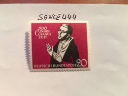 Germany N. De Cusa Theologian 1958 Mnh - [7] Federal Republic