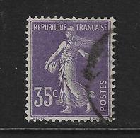 FRANCIA - CLÁSICO. Yvert Nº 136 Usado Y Defectuoso - Francia