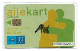 Turkey - TT (chip) - Family Cards - C-220 - Ailekart Light Green, (Special Card For Soldiers), 2008, NSB - Turkey