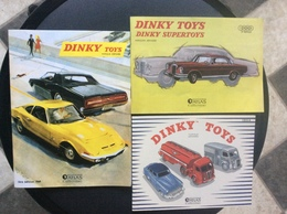 3 CATALOGUES DINKY TOYS *2008 *2013 *2014 ÉDITIONS ATLAS Rééditions Des Catalogues DINKY TOYS *1954 *1963 *1969 - Catalogues & Prospectus