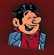 59454-Pin's.BD.Spirou.Presse.magazine.journal.Dupuis.franquin. - Comics