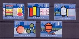 Chine N° 2157 / 2161 Neuf Sans Charniere XX  MNH - 1949 - ... Repubblica Popolare