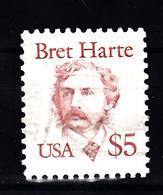 USA 1987 Mi Nr 1941  Bret Harte, Schrijver, Writer - Etats-Unis