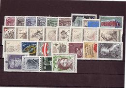 Österreich, Kpl. Jahrgang 1969** (T 12106) - Ganze Jahrgänge