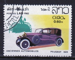 Laos 1982 Single 60c Stamp From The Cars Set. - Laos