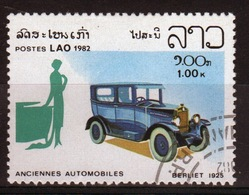 Laos 1982 Single 1k Stamp From The Cars Set. - Laos