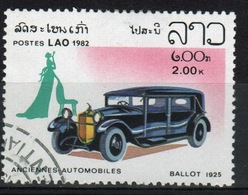 Laos 1982 Single 2k Stamp From The Cars Set. - Laos