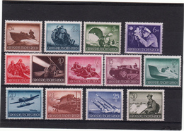 ALLEMAGNE  III° REICH   JOURNEE DES HEROS  N° 791 A 803     NEUFS XX - Unused Stamps