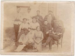 Ancienne Photographie / Militaires (Soldats) Et Femmes - Guerre, Militaire