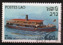 Laos 1982 Single 2k Stamp From The River Craft Set. - Laos