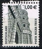 Bund 2002, Michel# 2301 R O Sehenswürdigkeiten Mit Nr. 465 In Doppelwäheung - Roller Precancels
