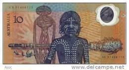 Billet $ 10 émis En 1988. World First Polymer Banknote. Retiré De La Vente Après Quelques Semaines. - Decimaal Stelsel Overheidsuitgave 1966-...
