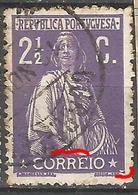 Portugal 2 1/2C Ceres  Big N/C Cliche-Used No Faults - Usado