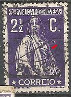 Portugal 2 1/2C Ceres   N/C Cliche-Used No Faults - Usado