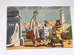 Carte Postale Ancienne (1948) Dessins D'Albert PLACE - Légendes De Max VIERE - Humor