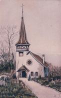 Chapelle Des Crêts FR, Litho (4679) - FR Fribourg