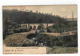 Goffontaine  Pont Du Chemin De Fer à Goffontaine 1905 - Pepinster