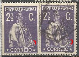 Portugal 2 1/2C Ceres   Same N/C Cliche-Used No Faults - Usado
