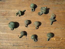 Ancient Vikings Bronze Buttons 10-13 Centuries/Medieval Buttons - Archeologia