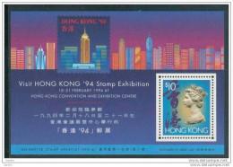 Bloc De China Chine : (42) 1994 - Exposition Timbres à La Convention Du HK SG MS746** - 1997-... Sonderverwaltungszone Der China