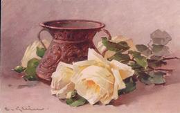 Klein Catharina, Pot Et Roses, Litho (1259) - Klein, Catharina