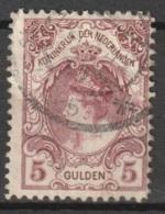 1899 Wilhelmina 5 GLD  NVPH 79 - Gebruikt