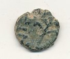 Fals Au Palmier  Bronze Vers 700 ( DAMAS ) OMEYYADES 14 Mm 2,21 Gr  VOIR SCANS - Islamiche