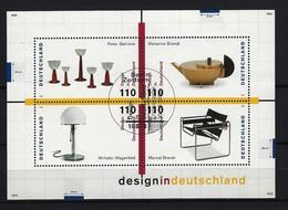 BUND - Block Mi-Nr. 45 Design In Deutschland Gestempelt BONN - BRD
