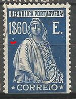 Portugal 1&60C Ceres  N/C P.parasita- Rare  -Used No Faults - Usado
