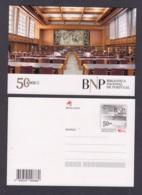 16.- PORTUGAL 2019 POSTAL STATIONARY - NATIONAL LIBRARY OF PORTUGAL - Enteros Postales