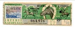Billet De Loterie 1953 / Fer à Cheval - Billets De Loterie