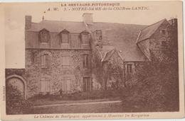 LANTIC - NOTRE DAME De La COUR En LANTIC - Le Château De Bourgogne Appartenant à Mr De Kergariou. - France
