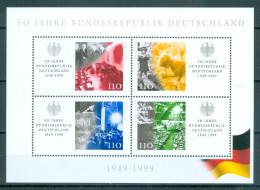 BUND - Block Mi-Nr. 49 - 50 Jahre Bundesrepublik Deutschland Postfrisch - BRD