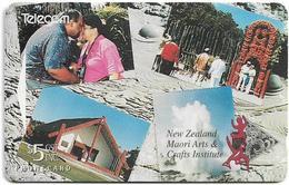 New Zealand - Advertising Cards - Maori Arts & Cratfs Institute, 1995, 13.000ex, Used - Neuseeland