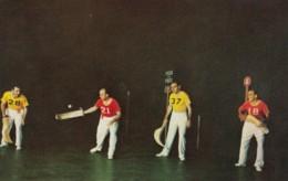 Jai-Alai Players In Tijuana Mexico, C1950s Vintage Postcard - Postcards