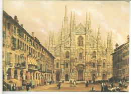 VATICANO ENTERO POSTAL DUOMO DI MILANO ARQUITECTURA - Iglesias Y Catedrales