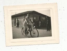 Photographie ,  Cyclisme , Femme ,publicité : Gevaert,  110 X 80 Mm - Cyclisme
