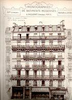 Monographies De Bâtiments Modernes N° 76 : Maison 17 R Lagrange Paris 05 - Architecture