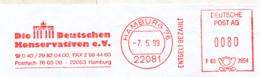 Freistempel 1074 Die Konservativen Brandenburger Tor - BRD