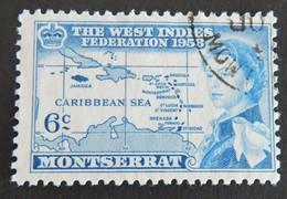 MONTSERRAT  YT 146 OBLITÉRÉ ANNÉE 1958 - Montserrat