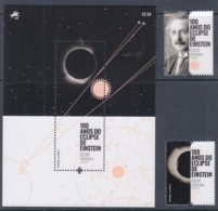 13.- PORTUGAL 2019 ECLIPSE - ALBERT EINSTEIN - 1910-... República