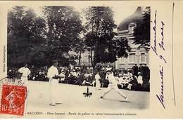 64 - MAULEON - Fêtes Basques - Partie De Pelote Au Rebot Internationale à Chisteras - Trés Ancienne - Mauleon Licharre