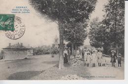 HAUTE MARNE  -  GERMAY - Entrée Du Village Venant De Joinville ( - Timbre à Date De 1911 - Grosse Animation - Autres Communes