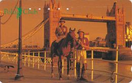 TC Japon / 110-183723 - Sport CHEVAL POLO CLUB London Tower Bridge - Japan HORSE England Rel Phonecard - PFERD - Site163 - Horses
