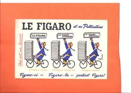 "BUVARD. PRESSE. JOURNAL   "" LE FIGARO ""  Achat Immédiat - P"